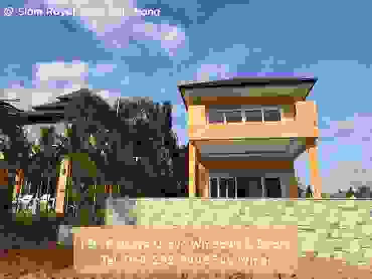 โรงงาน พัทยา กระจก ยูพีวีซี Pattaya UPVC Windows & Doors Windows & doors Windows White