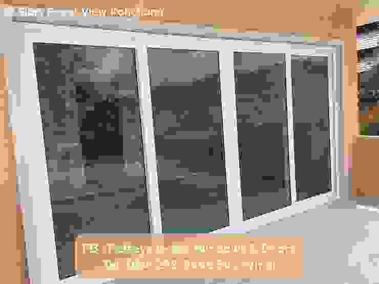 โรงงาน พัทยา กระจก ยูพีวีซี Pattaya UPVC Windows & Doors Windows & doors Doors White