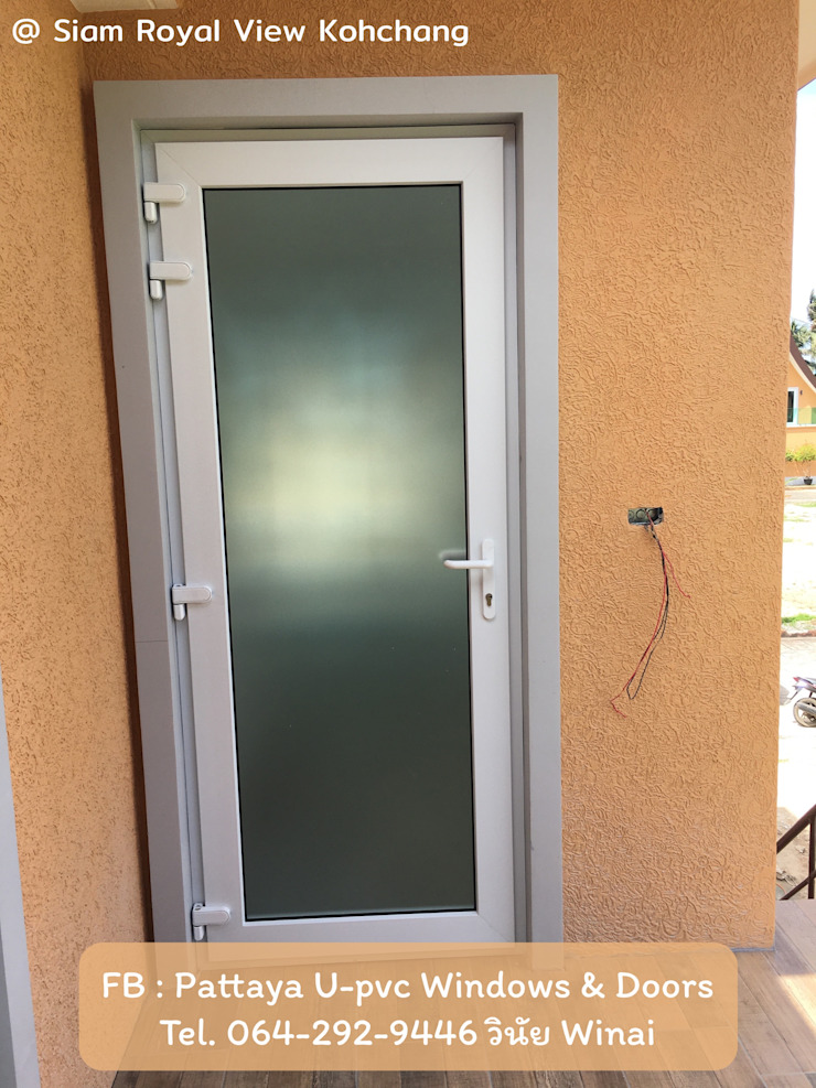 โรงงาน พัทยา กระจก ยูพีวีซี Pattaya UPVC Windows & Doors Windows & doors Doors