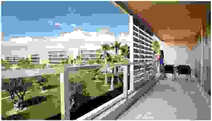 Propriété Générale International Real Estate Balconies, verandas & terraces Plants & flowers