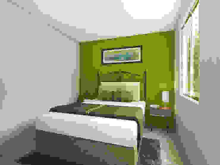 Arqternativa Small bedroom Green