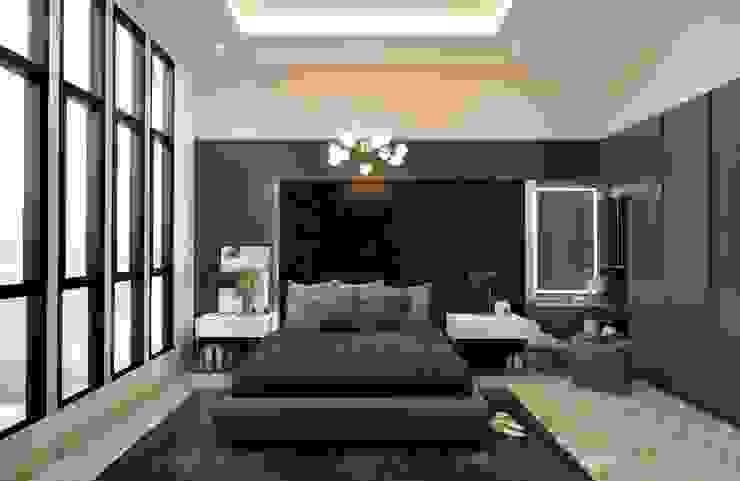The Totnes Modernize Design + Turnkey ห้องนอน Grey