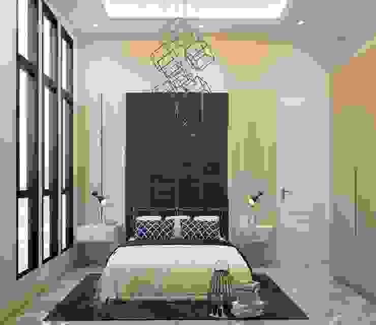 The Totnes Modernize Design + Turnkey ห้องนอน Beige
