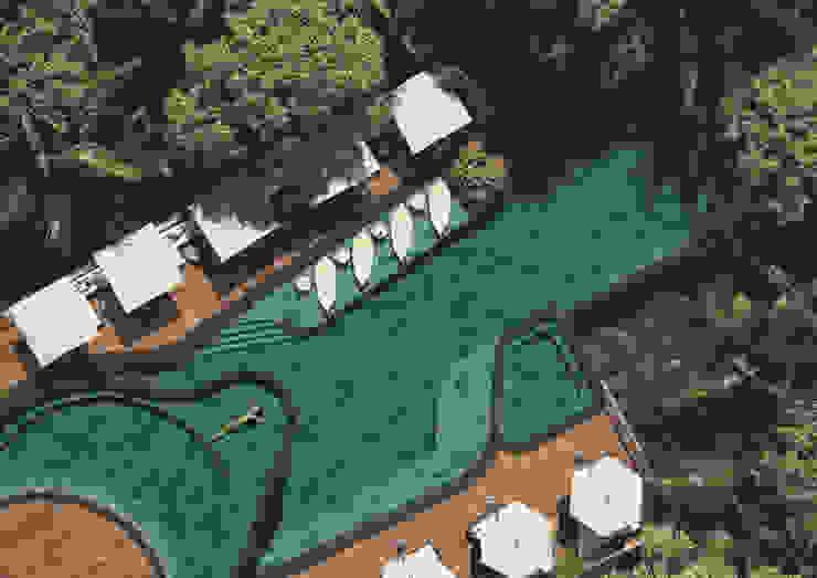 ROSA GRES 泳池 陶器 Turquoise
