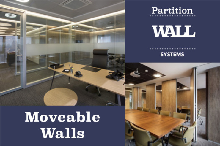 Partition Wall Systems, moveable walls, and custom wooden works SG International Trade Office buildings