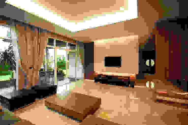 K Aroon (Gold Heritage) Modernize Design + Turnkey ห้องนั่งเล่น กระเบื้อง Amber/Gold