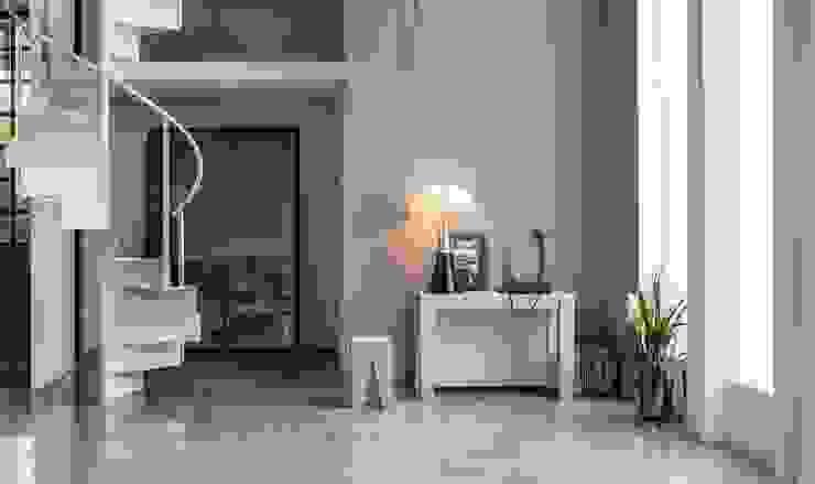 Consolle allungabile Tanno Arredamenti Ingresso, Corridoio & Scale in stile moderno