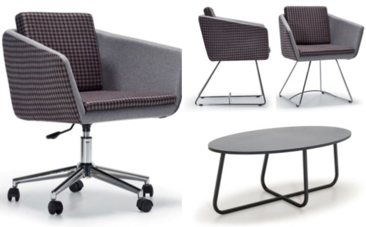 Task chair, waiting chair, guest chair and coffee tables SG International Trade Oficinas y tiendas