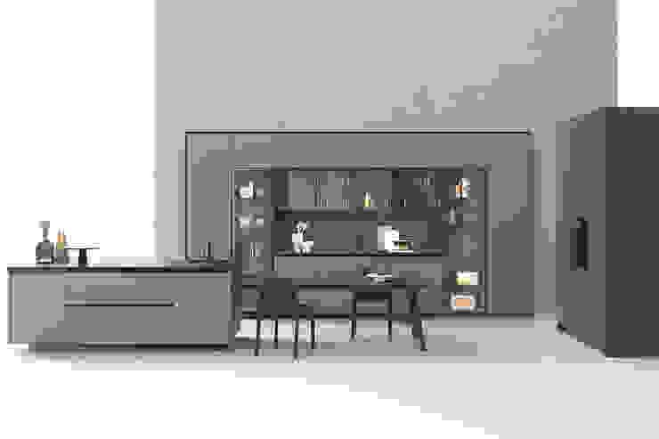 Cucina di design con vetrine TopArredi Cucina attrezzata
