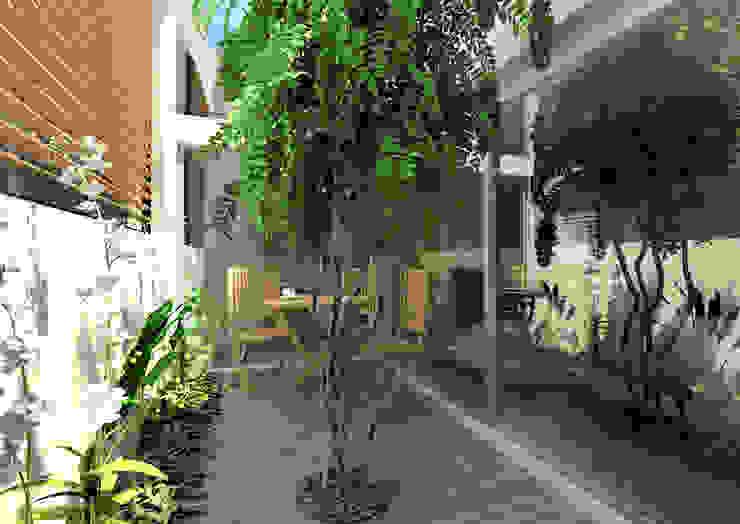 Modern Terrace by ARCHDESIGN LX Modern Glass
