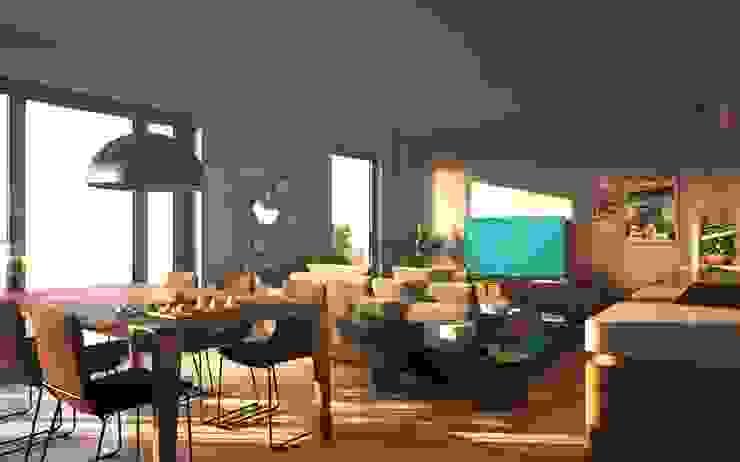 Propriété Générale International Real Estate Living roomStools & chairs