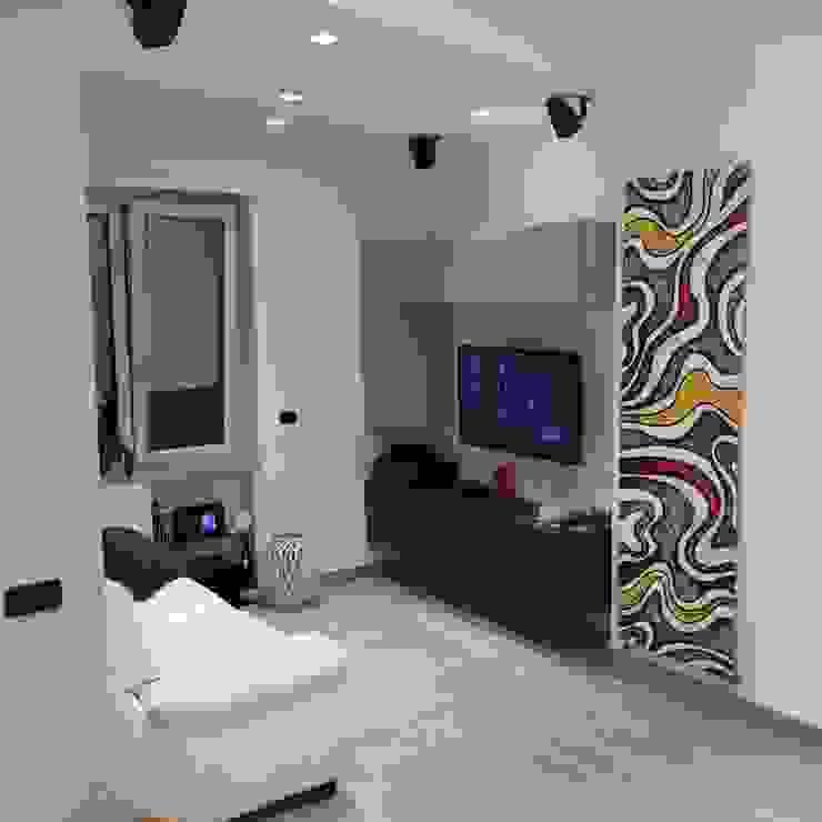 Soggiorno TV arch. Augusto Severino Soggiorno moderno