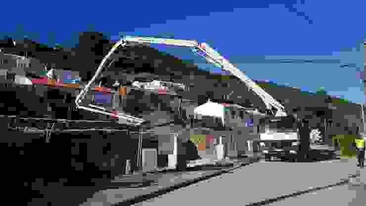 Betão de Limpeza Sobral & Carreira Casas unifamilares
