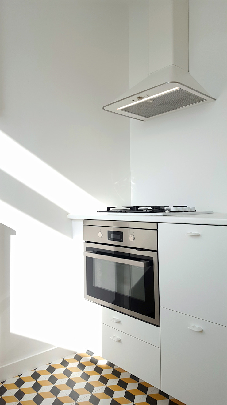 ARCHDESIGN LX Small kitchens MDF White