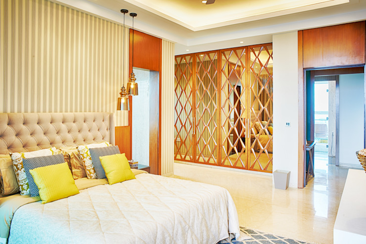 Anusha Technovision Pvt. Ltd. Chambre moderne