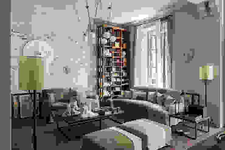 Raw - Cabinet de Curiosités Soggiorno in stile rustico di Elena Rosignoli Rustico