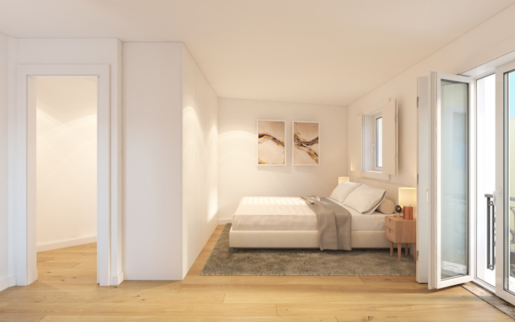 Propriété Générale International Real Estate Kamar tidur kecil