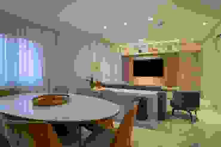Spazhio Croce Interiores 客廳電視櫃 鋁箔/鋅 Grey
