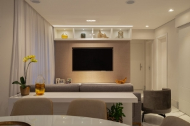 Spazhio Croce Interiores 餐廳配件與裝飾品 陶器 Grey