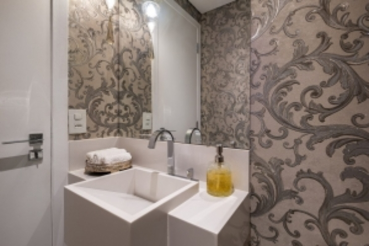 Spazhio Croce Interiores 衛浴洗手台 陶器 White