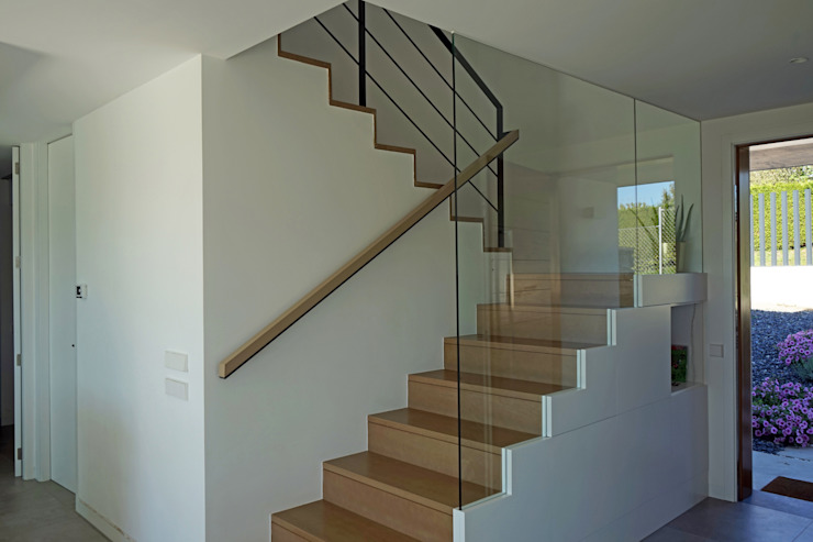 AD+ arquitectura Stairs Solid Wood Brown