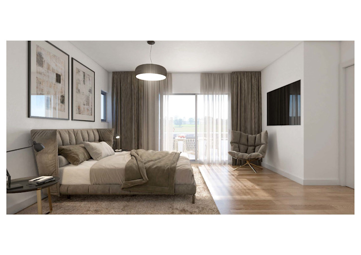 Propriété Générale International Real Estate Kamar Tidur Modern