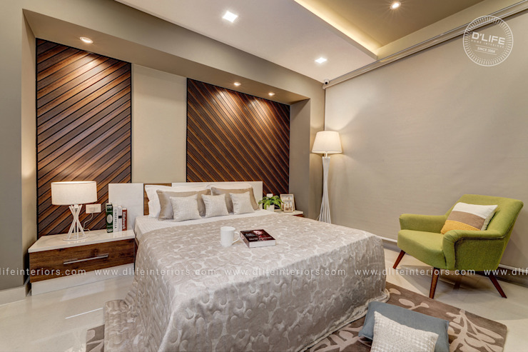 A Bedroom Which Spells Craftsmanship And Unique Luxury DLIFE Home Interiors BedroomAccessories & decoration