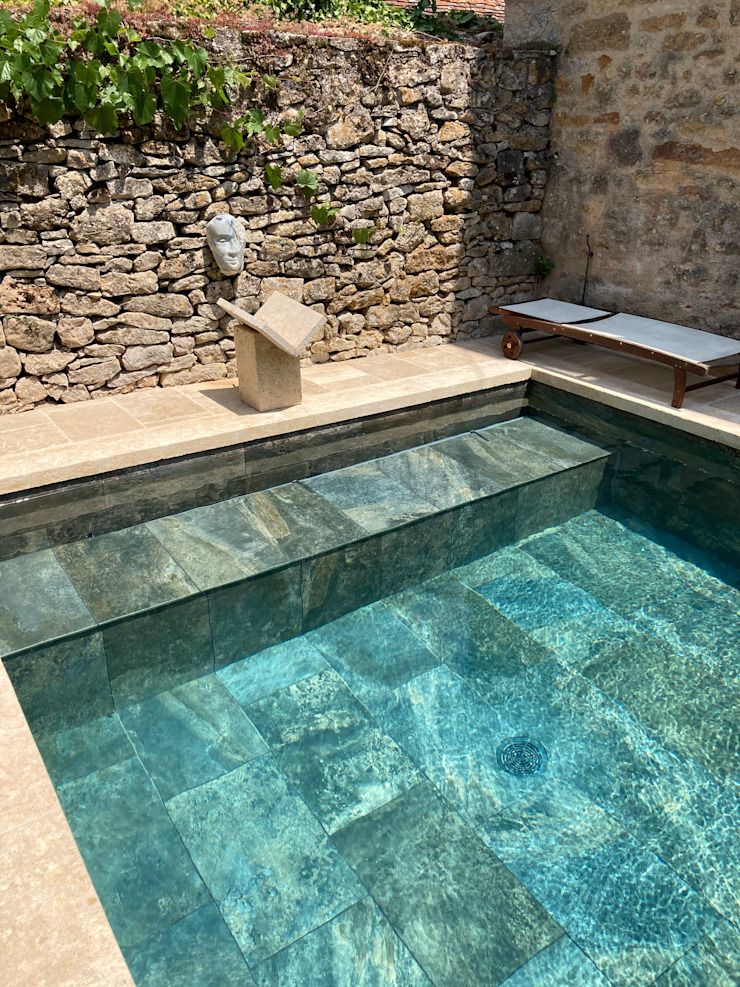 ROSA GRES 庭院泳池 陶器 Turquoise