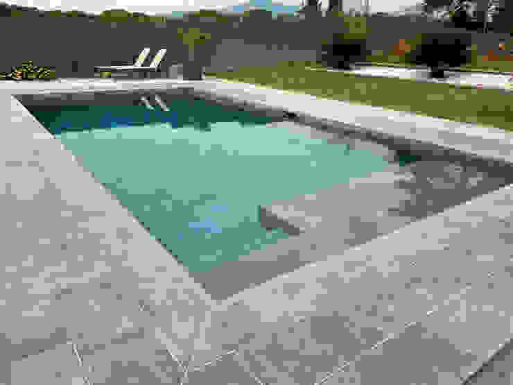 ROSA GRES 庭院泳池 陶器 Grey