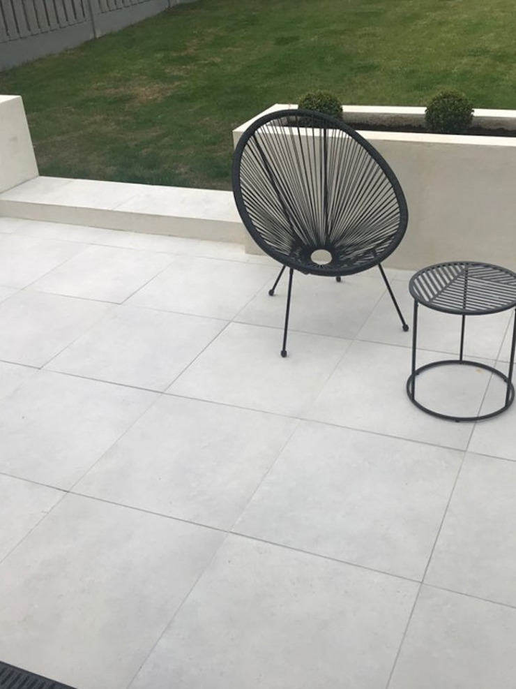 Outdoor Porcelain Tile by Royale Stones Royale Stones Limited Garden Shed