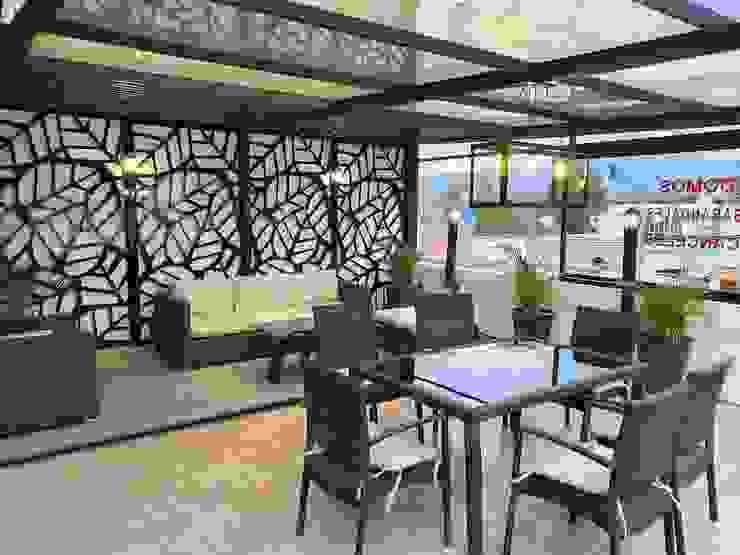 Merkalum Modern Walls and Floors Aluminium/Zinc Black