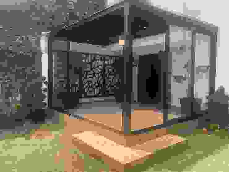 PANEL DE ALUMINIO Merkalum Cobertizos Aluminio/Cinc Negro