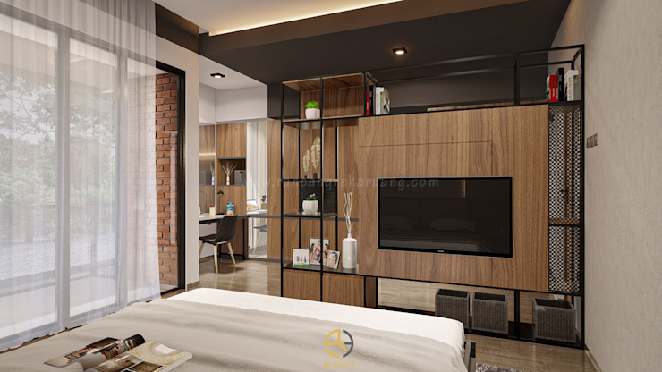 Rancang Reka Ruang 寝室アクセサリー&デコレーション 多色