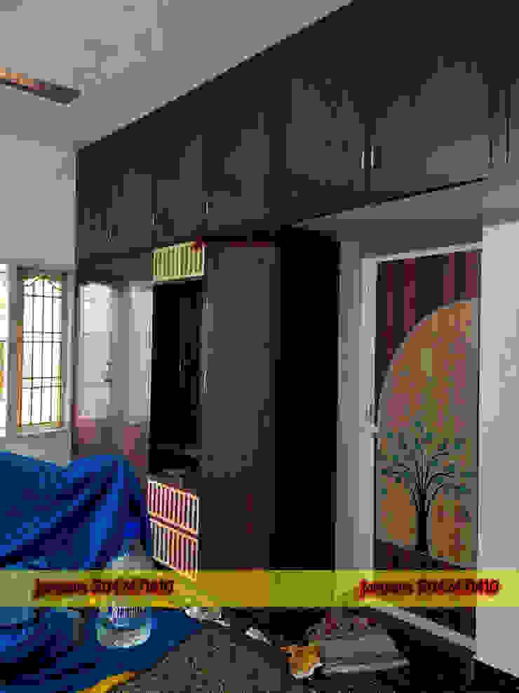 balabharathi pvc interior design DormitoriosTocadores Plástico Acabado en madera