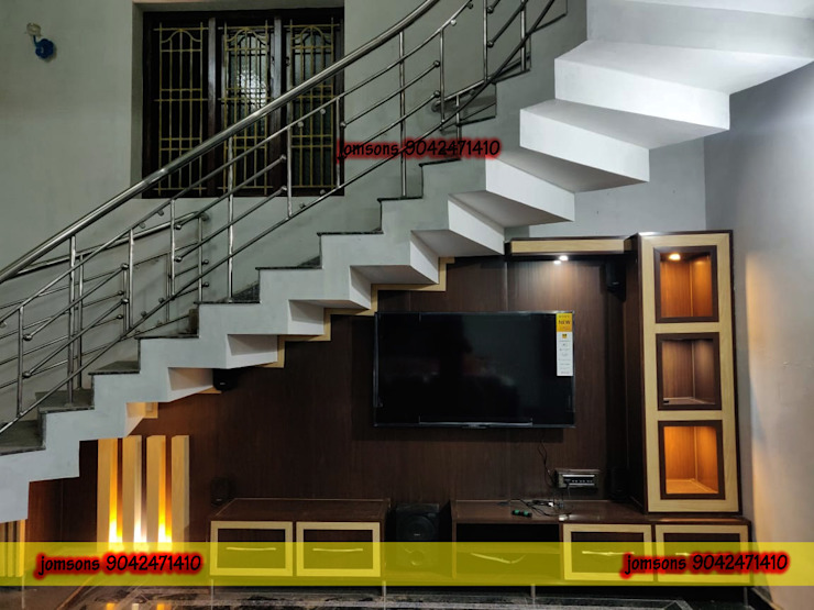 PVC Interiors Hosur, Low Cost PVC Interiors Hosur 9042471410 balabharathi pvc interior design Living roomTV stands & cabinets Plastic Wood effect