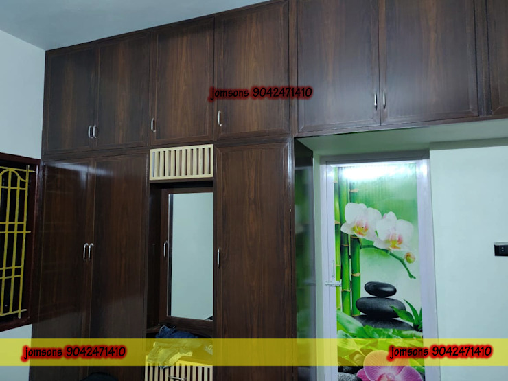 PVC Interiors Hosur, Low Cost PVC Interiors Hosur 9042471410 balabharathi pvc interior design BedroomWardrobes & closets Plastic Wood effect