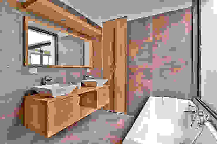 Salle de Bain Meuble Teck Brunel Architecture Salle de bain moderne