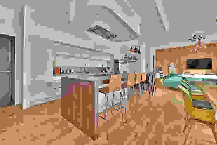 Villa contemporaine Aubais Brunel Architecture Cuisine moderne