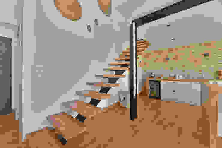 Villa Nages et Solorgues Brunel Architecture Escalier