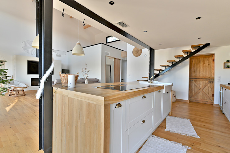 Villa Nages et Solorgues Brunel Architecture Cuisine méditerranéenne