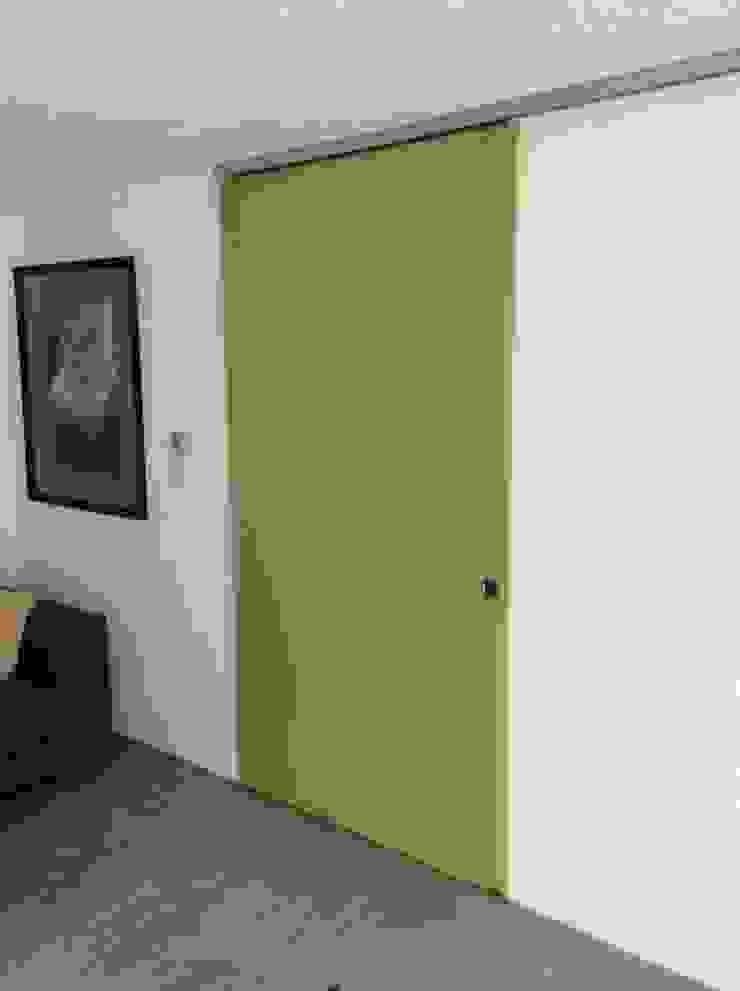 Puerta corrediza Merkalum Puertas interiores Vidrio Verde
