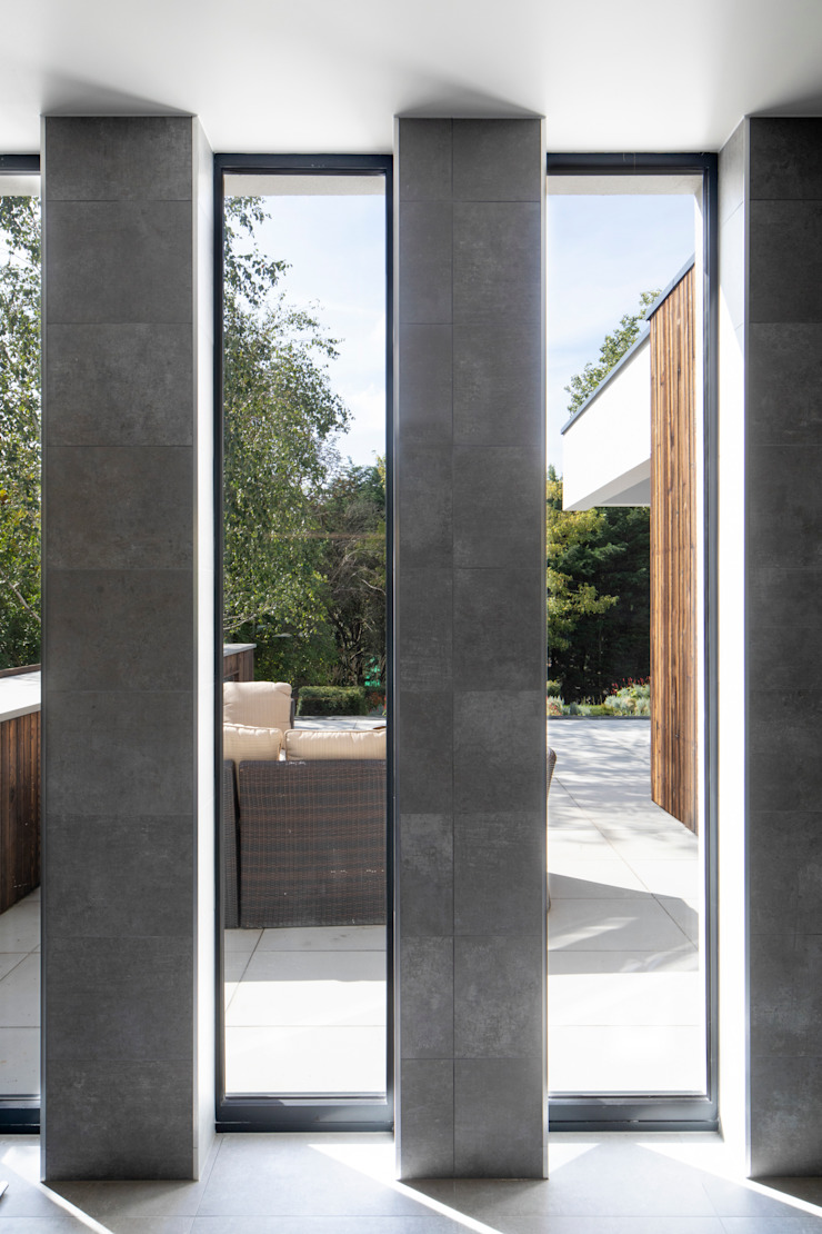 Slot Windows Clear Architects Modern windows & doors