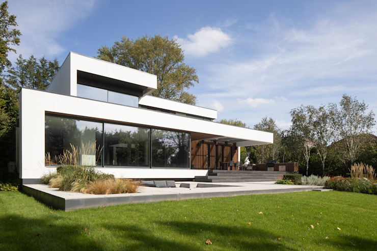 Exteriors Clear Architects Modern houses
