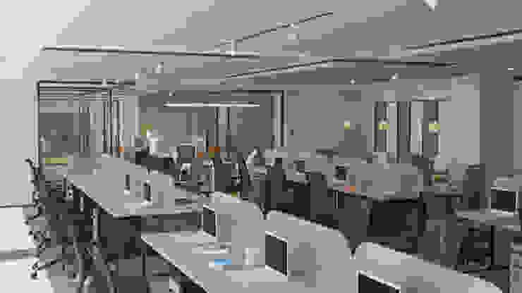 4 + Arquitectura Kantoren & winkels Hout Bont