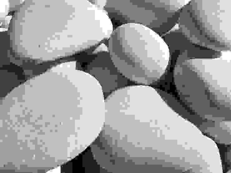 Premium Pure White pebble 60-90 mm. Canteras el Cerro Garden Accessories & decoration Marble White