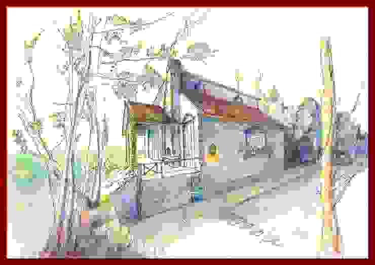 Villa und Garten architetto Manfredi Villa Stahlbeton