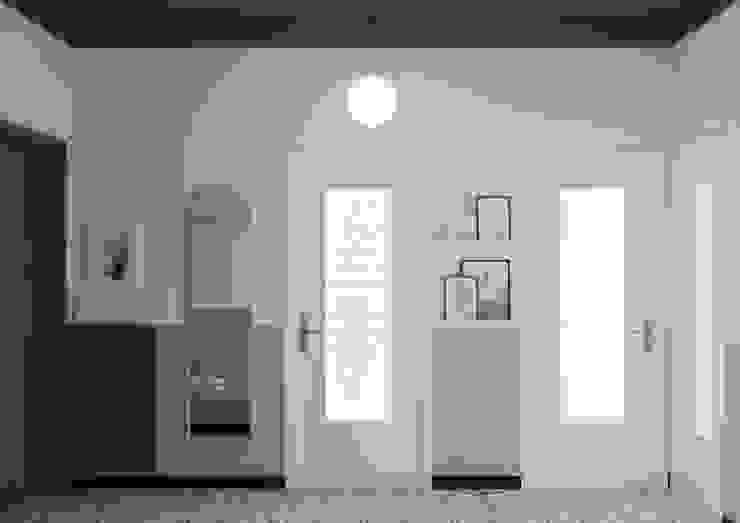 Bongio Valentina Pasillos, vestíbulos y escaleras de estilo moderno