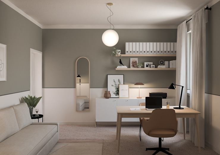 Bongio Valentina Estudios y despachos de estilo moderno