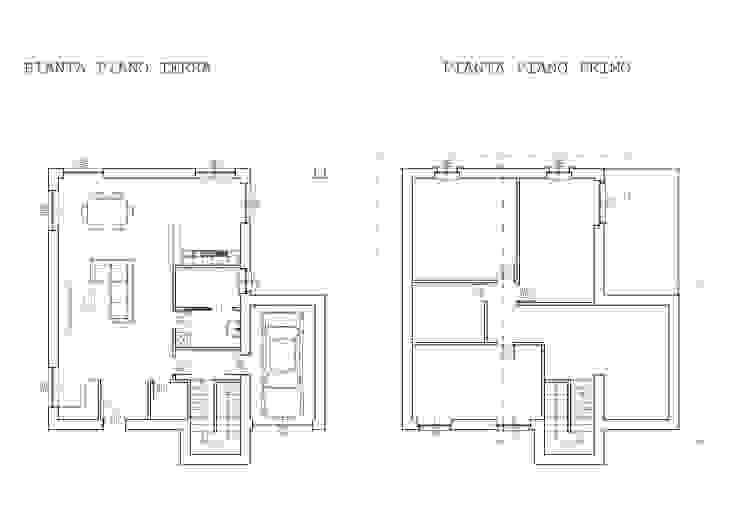 Planimetrie DESEN Pareti & Pavimenti in stile moderno