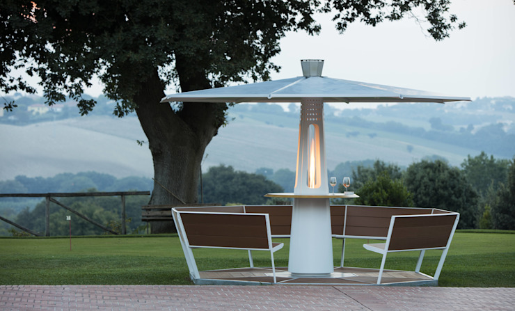 Focotto Jardines de estilo minimalista